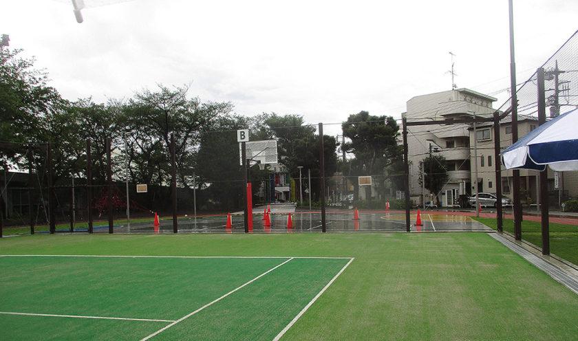 板橋区立小豆沢庭球場